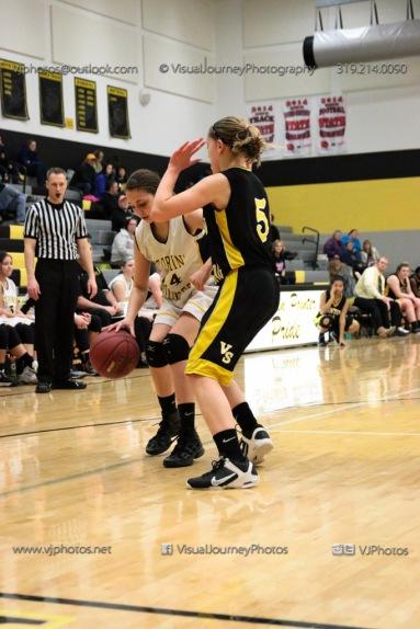 JV Girls Basketball Center Point-Urbana vs Vinton-Shellsburg-1810