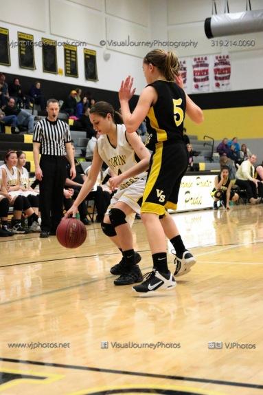 JV Girls Basketball Center Point-Urbana vs Vinton-Shellsburg-1811