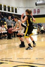 JV Girls Basketball Center Point-Urbana vs Vinton-Shellsburg-1812