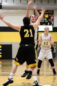 JV Girls Basketball Center Point-Urbana vs Vinton-Shellsburg-1815