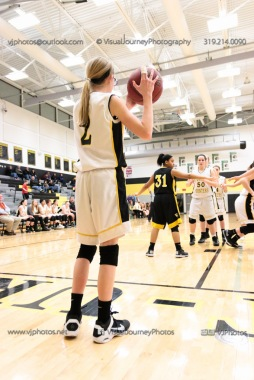 JV Girls Basketball Center Point-Urbana vs Vinton-Shellsburg-1818