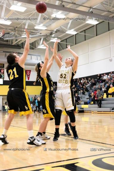 JV Girls Basketball Center Point-Urbana vs Vinton-Shellsburg-1824