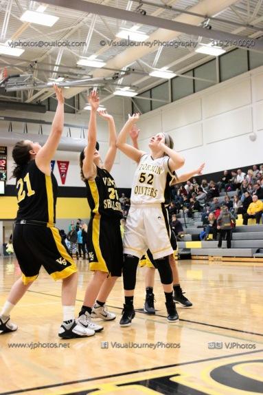 JV Girls Basketball Center Point-Urbana vs Vinton-Shellsburg-1825
