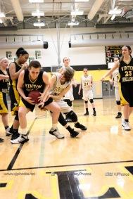 JV Girls Basketball Center Point-Urbana vs Vinton-Shellsburg-1836