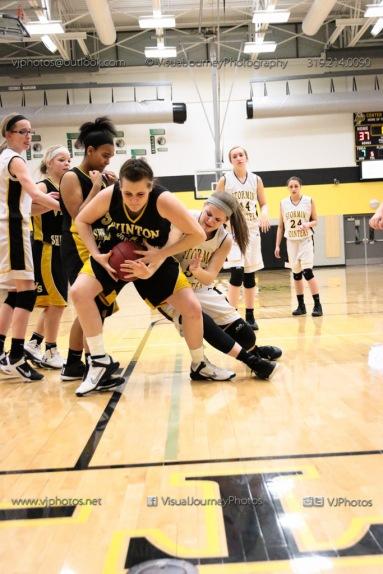 JV Girls Basketball Center Point-Urbana vs Vinton-Shellsburg-1837