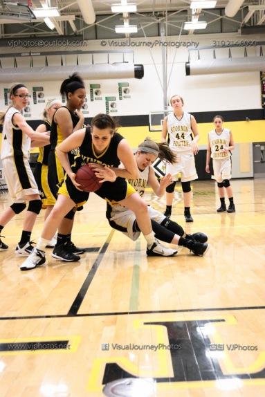 JV Girls Basketball Center Point-Urbana vs Vinton-Shellsburg-1838