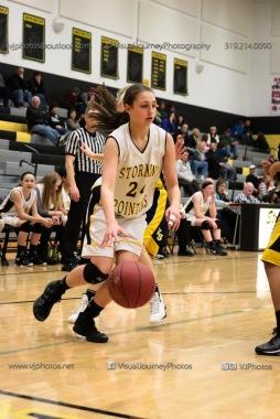 JV Girls Basketball Center Point-Urbana vs Vinton-Shellsburg-1843