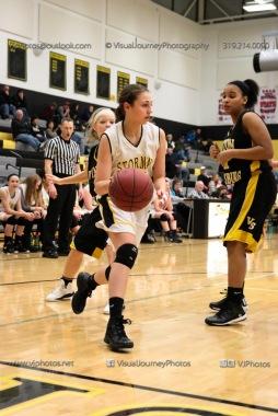 JV Girls Basketball Center Point-Urbana vs Vinton-Shellsburg-1844
