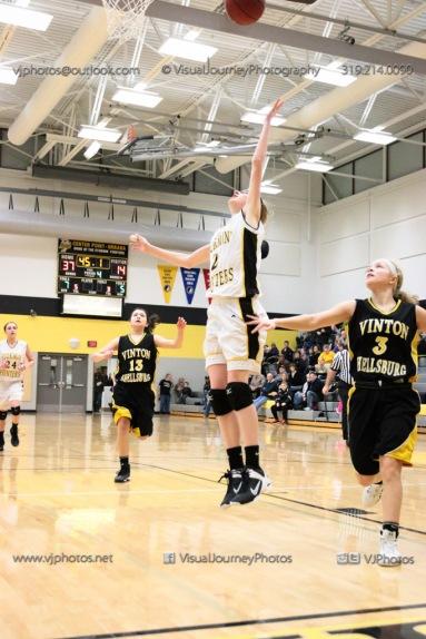 JV Girls Basketball Center Point-Urbana vs Vinton-Shellsburg-1864