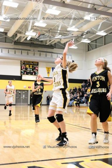 JV Girls Basketball Center Point-Urbana vs Vinton-Shellsburg-1865