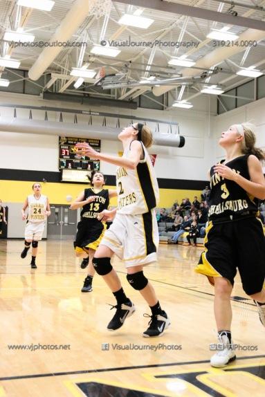 JV Girls Basketball Center Point-Urbana vs Vinton-Shellsburg-1866