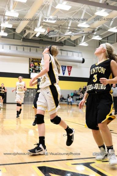 JV Girls Basketball Center Point-Urbana vs Vinton-Shellsburg-1867