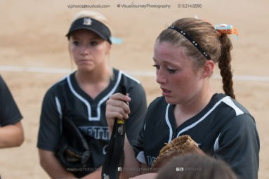 Softball Varsity Vinton-Shellsburg vs Clear Creek Amana 2014-4961