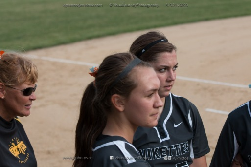 Softball Varsity Vinton-Shellsburg vs Clear Creek Amana 2014-4962