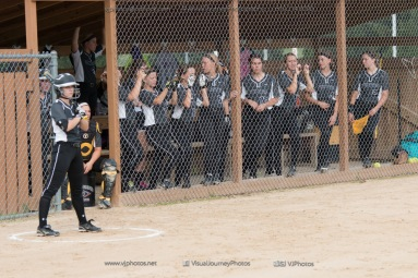 Softball Varsity Vinton-Shellsburg vs Clear Creek Amana 2014-4994