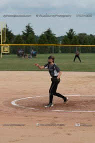 Softball Varsity Vinton-Shellsburg vs Clear Creek Amana 2014-5071