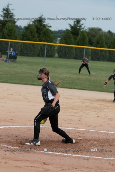 Softball Varsity Vinton-Shellsburg vs Clear Creek Amana 2014-5074