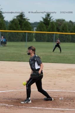 Softball Varsity Vinton-Shellsburg vs Clear Creek Amana 2014-5084