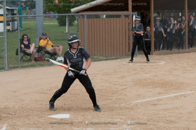 Softball Varsity Vinton-Shellsburg vs Clear Creek Amana 2014-5105