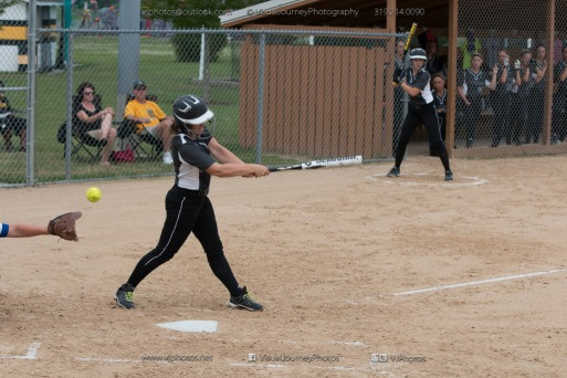 Softball Varsity Vinton-Shellsburg vs Clear Creek Amana 2014-5130