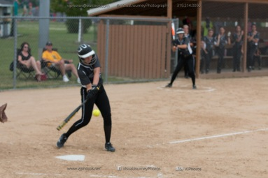 Softball Varsity Vinton-Shellsburg vs Clear Creek Amana 2014-5139
