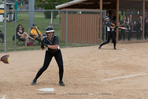 Softball Varsity Vinton-Shellsburg vs Clear Creek Amana 2014-5141