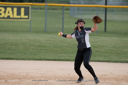Softball Varsity Vinton-Shellsburg vs Clear Creek Amana 2014-5163