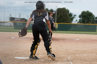 Softball Varsity Vinton-Shellsburg vs Clear Creek Amana 2014-5185