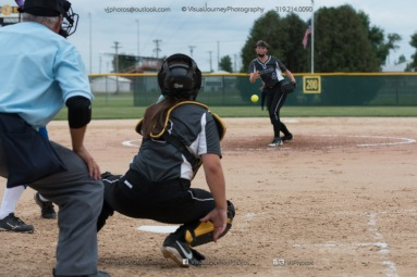 Softball Varsity Vinton-Shellsburg vs Clear Creek Amana 2014-5186