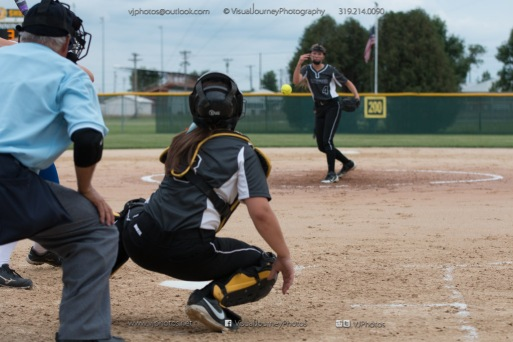 Softball Varsity Vinton-Shellsburg vs Clear Creek Amana 2014-5187