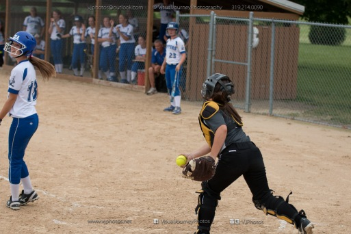 Softball Varsity Vinton-Shellsburg vs Clear Creek Amana 2014-5261