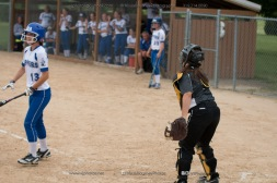 Softball Varsity Vinton-Shellsburg vs Clear Creek Amana 2014-5263