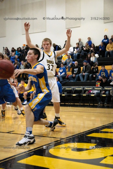 Sophomore Basketball Vinton-Shellsburg vs Benton Community-8834