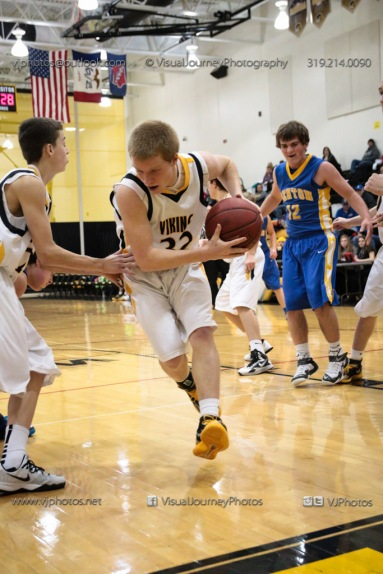 Sophomore Basketball Vinton-Shellsburg vs Benton Community-8848