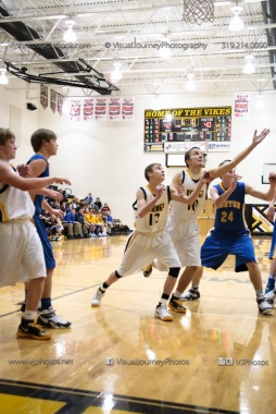 Sophomore Basketball Vinton-Shellsburg vs Benton Community-9042