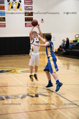 Sophomore Basketball Vinton-Shellsburg vs Benton Community-9126