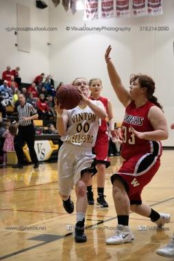 Sophomore Girls Basketball Vinton-Shellsburg vs Williamsburg-0066