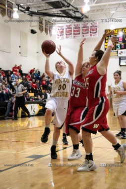 Sophomore Girls Basketball Vinton-Shellsburg vs Williamsburg-0067