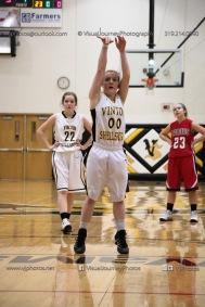 Sophomore Girls Basketball Vinton-Shellsburg vs Williamsburg-0071