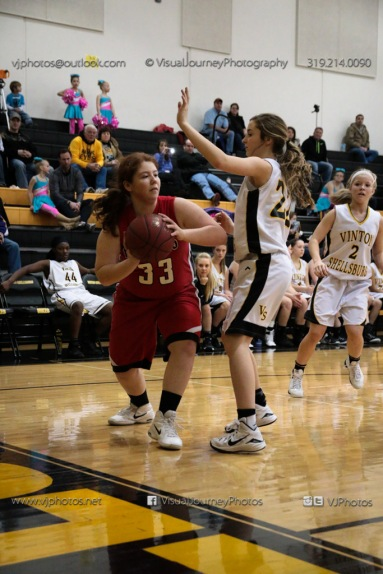 Sophomore Girls Basketball Vinton-Shellsburg vs Williamsburg-0077