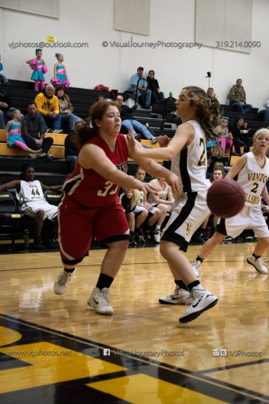Sophomore Girls Basketball Vinton-Shellsburg vs Williamsburg-0078