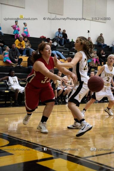 Sophomore Girls Basketball Vinton-Shellsburg vs Williamsburg-0078