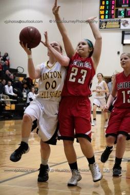 Sophomore Girls Basketball Vinton-Shellsburg vs Williamsburg-0085