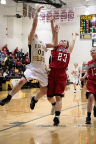 Sophomore Girls Basketball Vinton-Shellsburg vs Williamsburg-0086