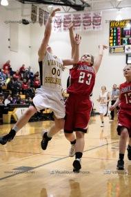 Sophomore Girls Basketball Vinton-Shellsburg vs Williamsburg-0086