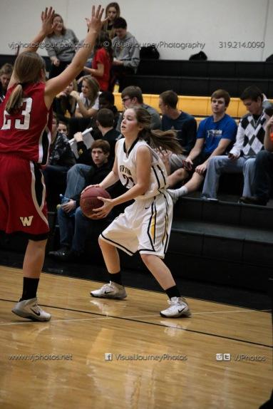 Sophomore Girls Basketball Vinton-Shellsburg vs Williamsburg-0090