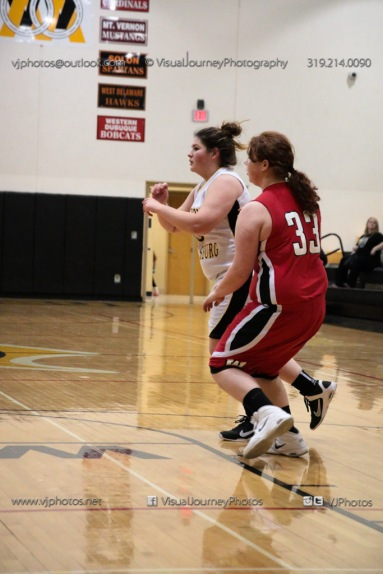 Sophomore Girls Basketball Vinton-Shellsburg vs Williamsburg-0091