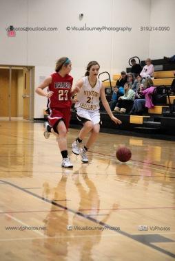 Sophomore Girls Basketball Vinton-Shellsburg vs Williamsburg-0096