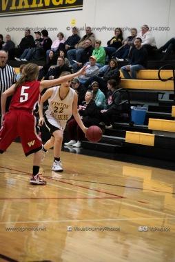 Sophomore Girls Basketball Vinton-Shellsburg vs Williamsburg-0101
