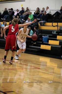 Sophomore Girls Basketball Vinton-Shellsburg vs Williamsburg-0102